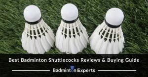 Best Badminton Shuttlecocks